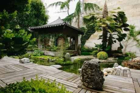 jardins d 39 inspiration japonaise. Black Bedroom Furniture Sets. Home Design Ideas